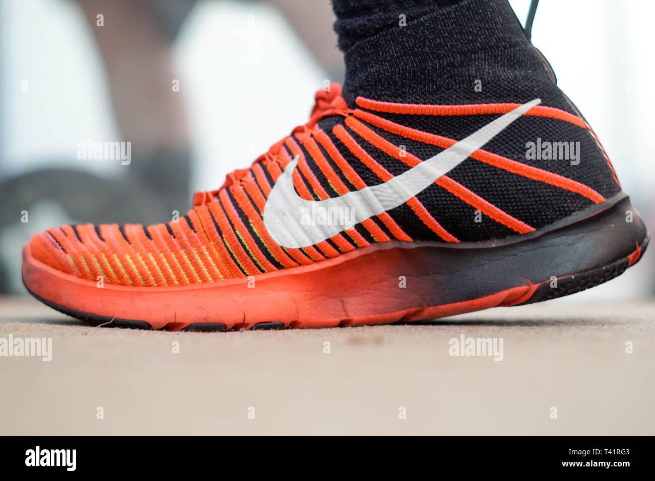 c91ee25e0d2 Nike Basketball Shoes Stock Photos & Nike Basketball Shoes Stock ...