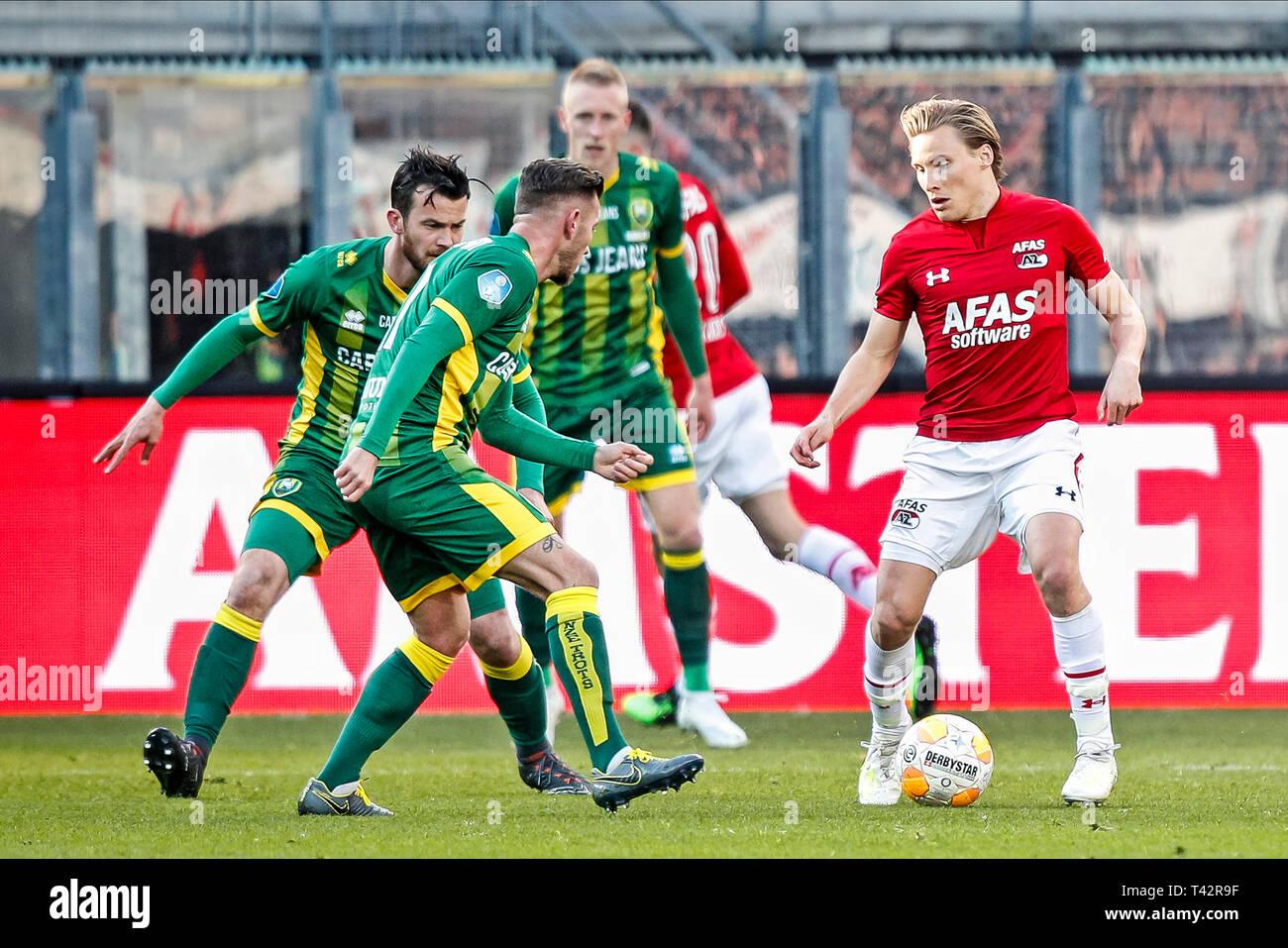 Alkmaar Az Ado Den Haag 13 04 2019 Football Dutch Eredivisie Season 2018 2019 Afas Stadium
