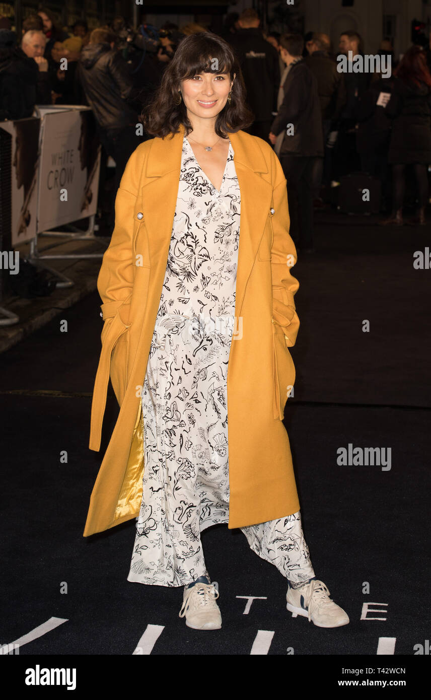 Red carpet arrivals for the UK Premiere of The White Crow at Curzon Mayfair  Featuring: Jasmine Hemsley Where: London, United Kingdom When: 12 Mar 2019 Credit: Phil Lewis/WENN.com Stock Photo