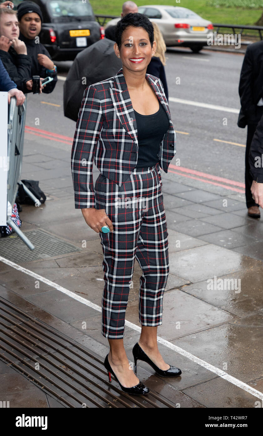 TRIC Awards 2019 held at the Grosvenor House Hotel  Featuring: Naga Munchetty Where: London, United Kingdom When: 12 Mar 2019 Credit: WENN.com - Stock Image