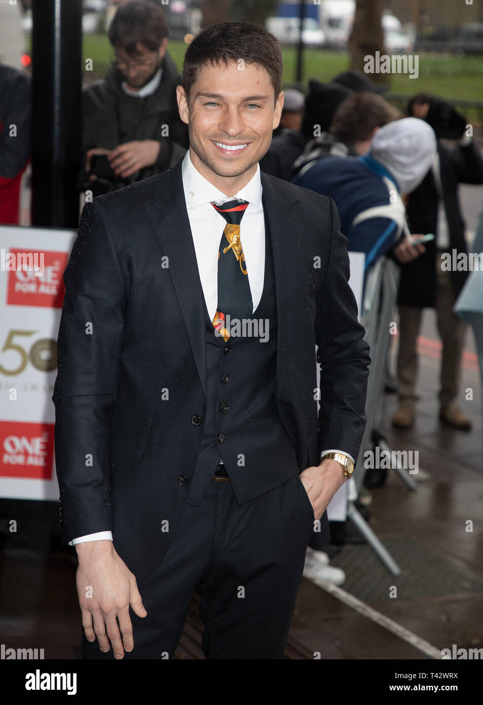 TRIC Awards 2019 held at the Grosvenor House Hotel  Featuring: Joey Essex Where: London, United Kingdom When: 12 Mar 2019 Credit: WENN.com - Stock Image