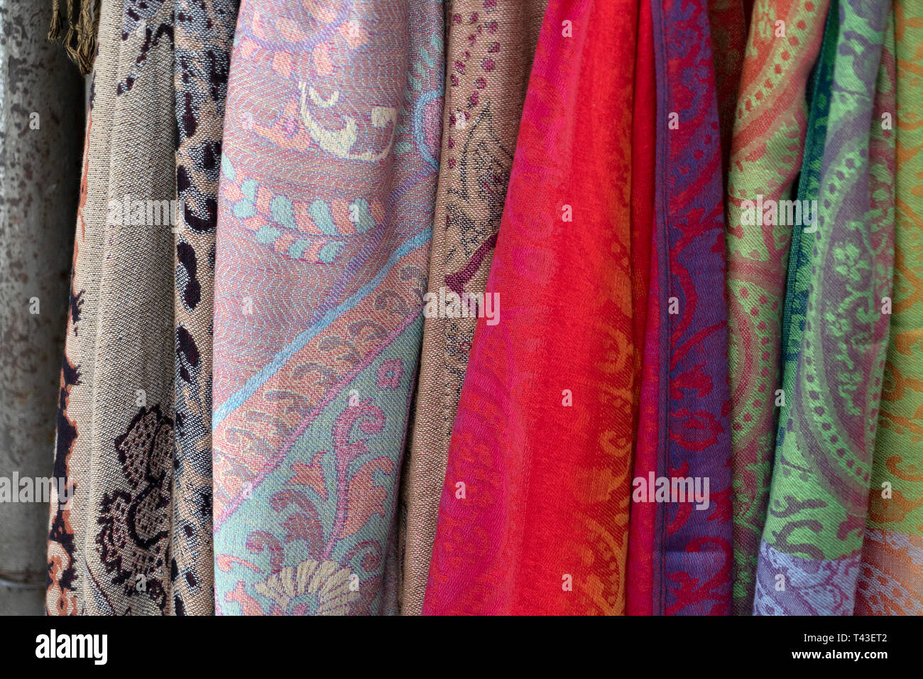 a8b355a8ac3 Indian Clothes Sale In Shop Stock Photos   Indian Clothes Sale In ...