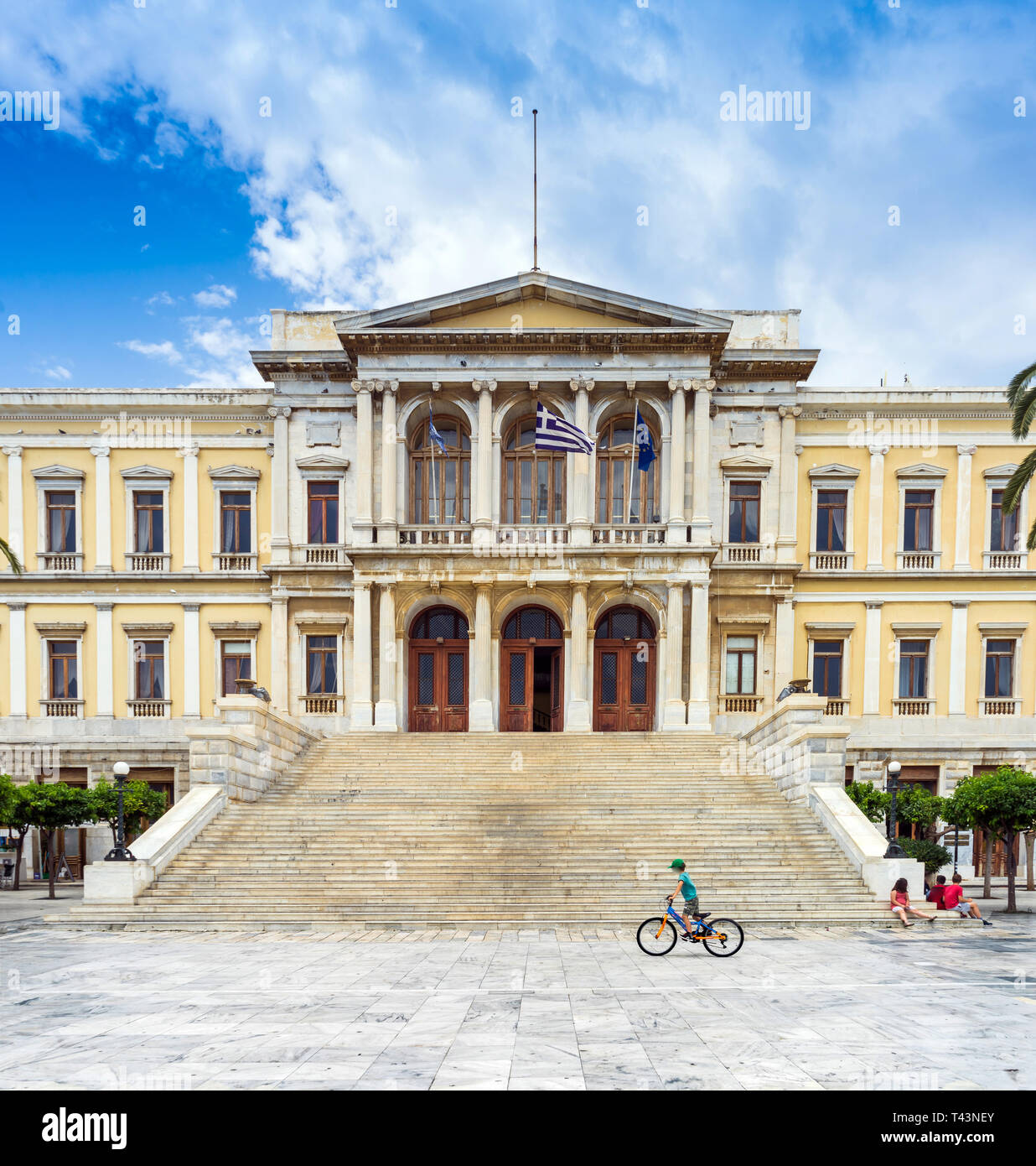 Neoclassical Architecture Greece Stock Photos