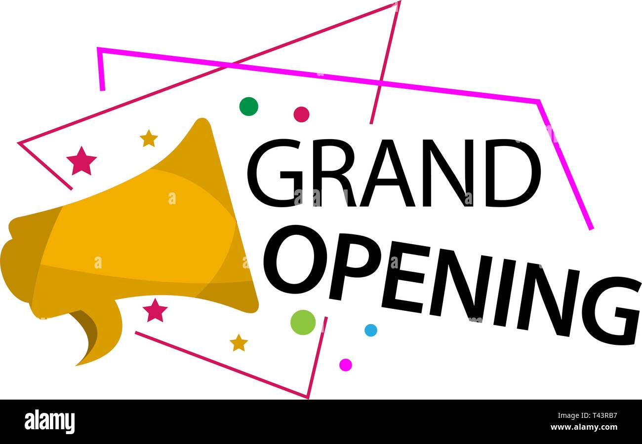 Grand Opening Template Design For Web Game Creative Poster