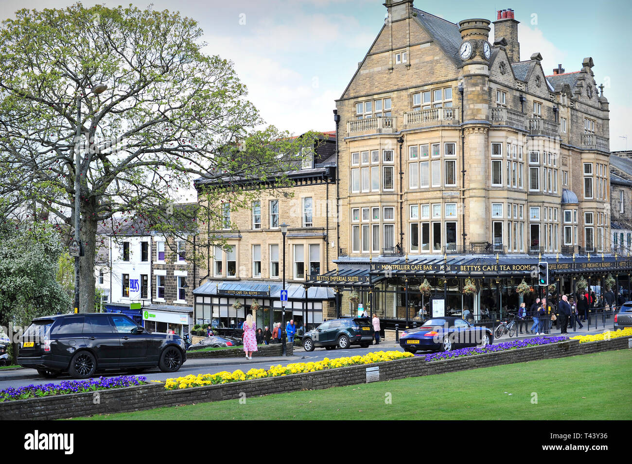 Betty's Cafe Harrogate North Yorkshire England UK - Stock Image