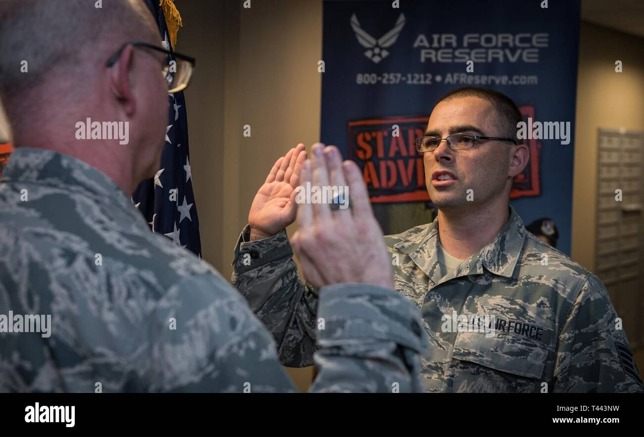 Staff. Sgt. Donovan Klein, new addition to the Air Force