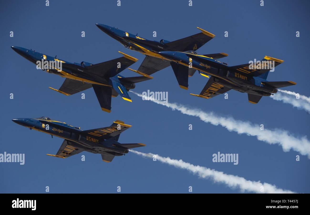 EL CENTRO, Calif  (March 16, 2019) The U S  Navy Flight