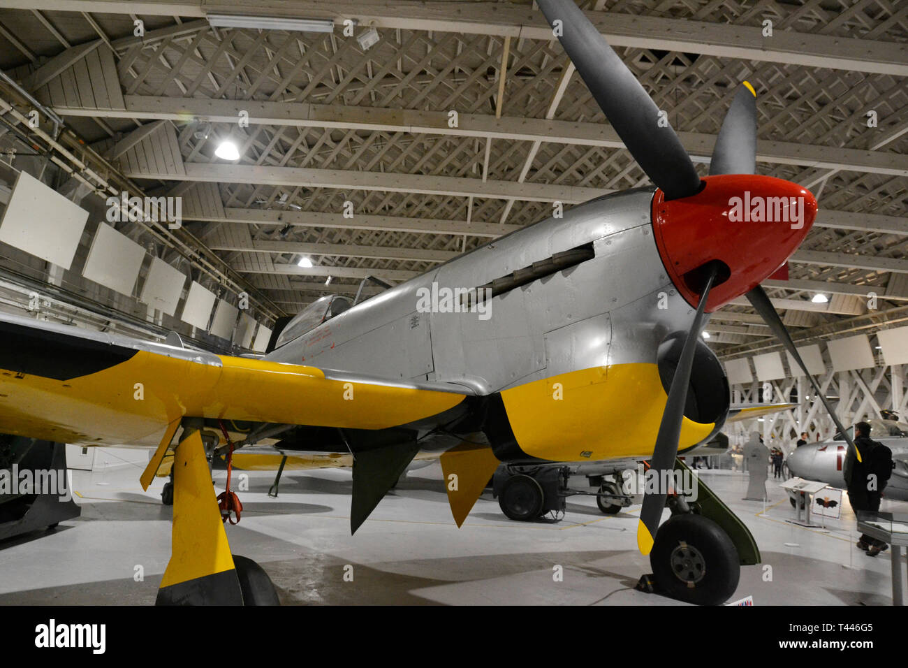 Hawker Tempest at the RAF Museum, London, UK Stock Photo