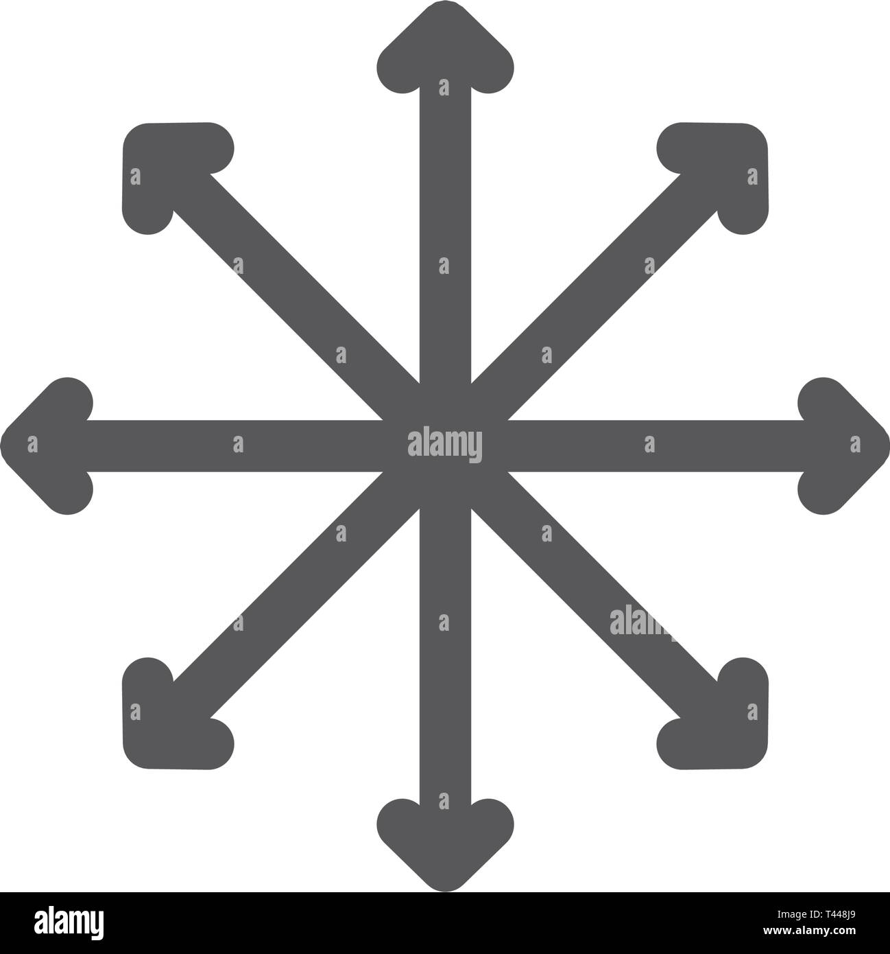 Navigation, traffic, compass, flexibility line icon. - Stock Image