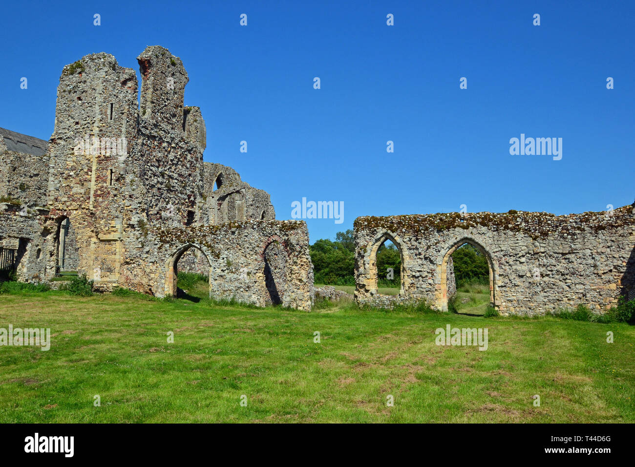 Leiston Abbey, Theberton, Leiston, Suffolk, UK Stock Photo