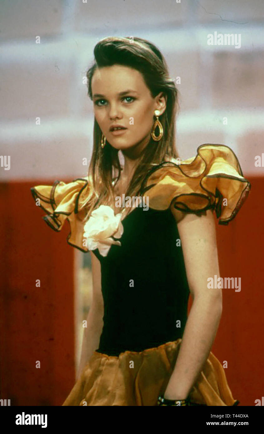 VANESSA PARADIS French singer about 1990 - Stock Image