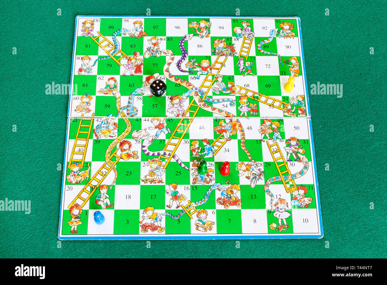Chutes And Ladders High Resolution Stock Photography And Images Alamy