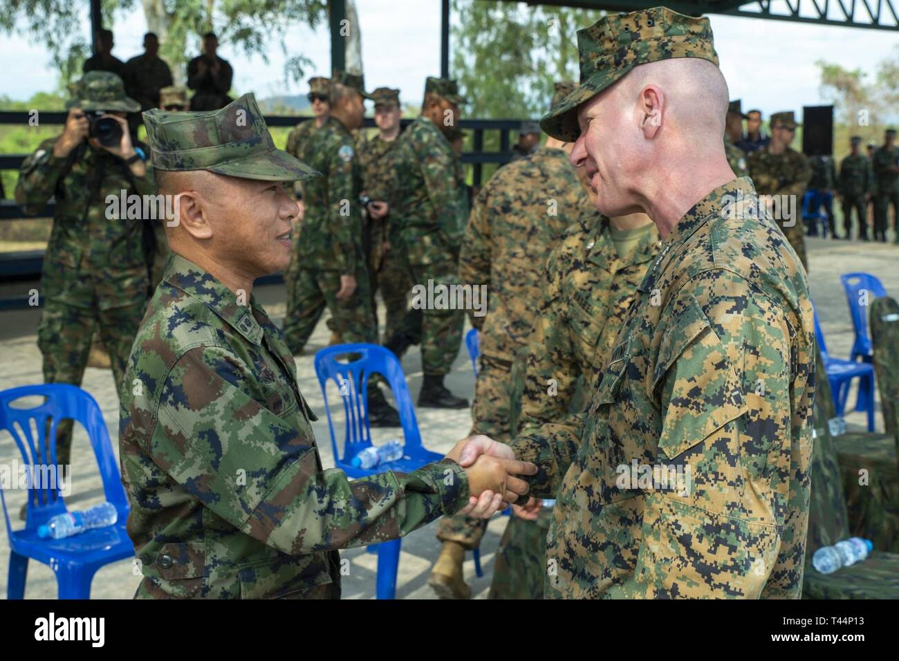 Royal Thai Marine Corps Stock Photos & Royal Thai Marine