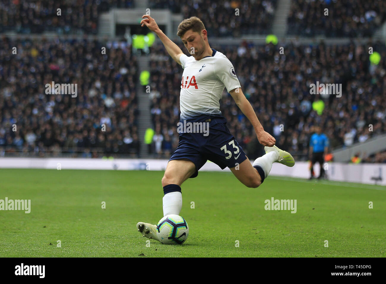 7247cae8d Ben Davies of Tottenham Hotspur in action. Premier league match