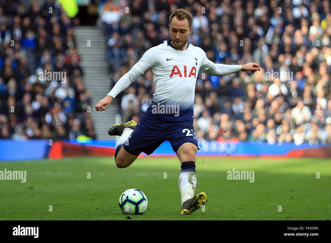 ed1b6e330 Christian Eriksen of Tottenham Hotspur in action. Premier league match