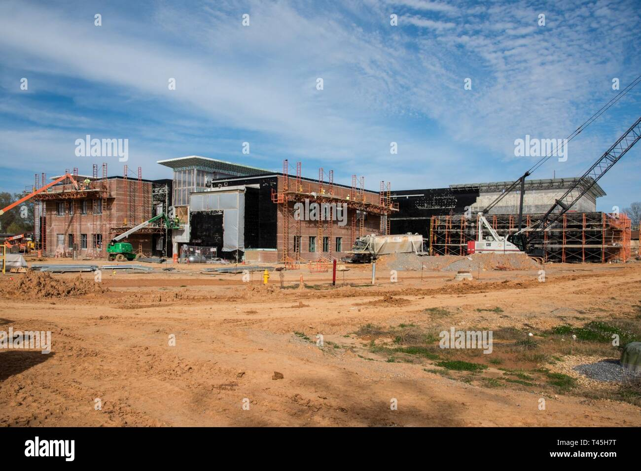 Maxwell AFB, Ala. - Progress photos of on going construction at school on Maxwell AFB - Stock Image