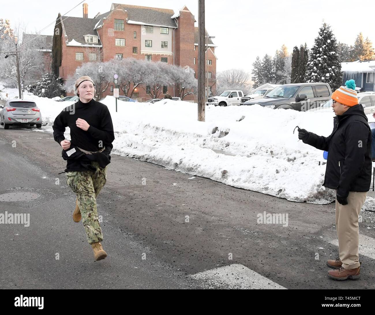 MOSCOW, Idaho – Oregon State University (OSU) Naval Reserve
