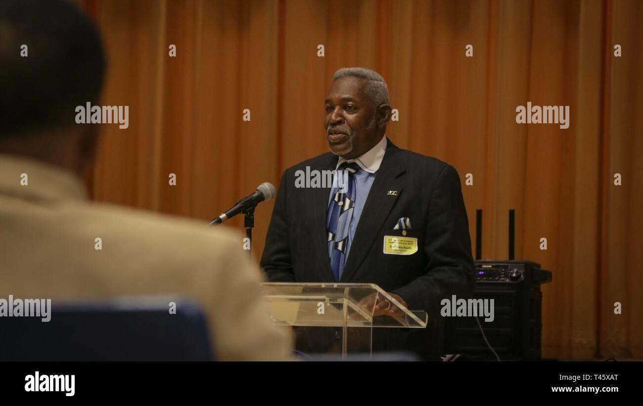 Mr  John Smith, Chapter President of the 100 Black Men, Cape