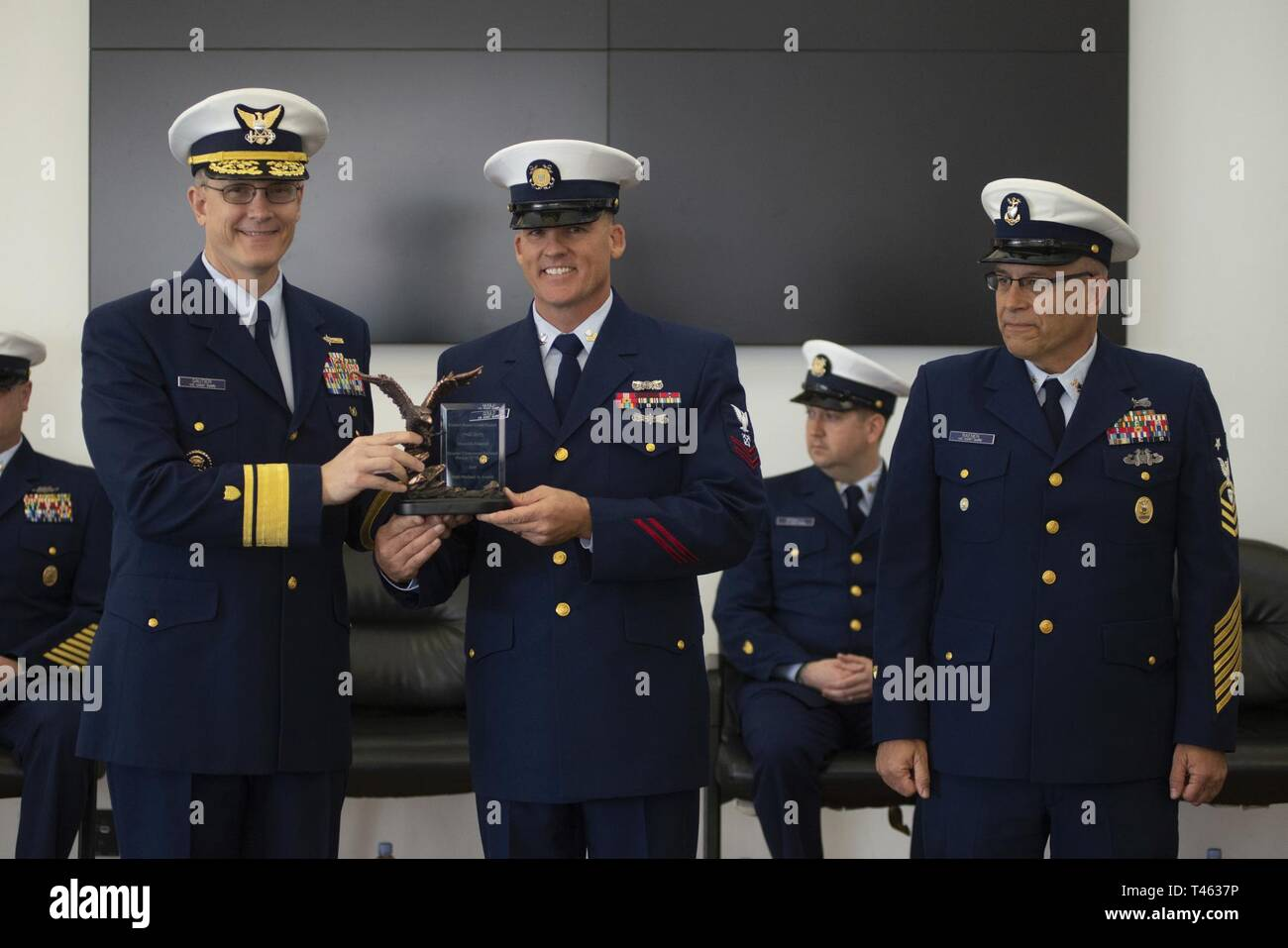 Master Chief Petty Officer Of The Coast Guard Stock Photos & Master
