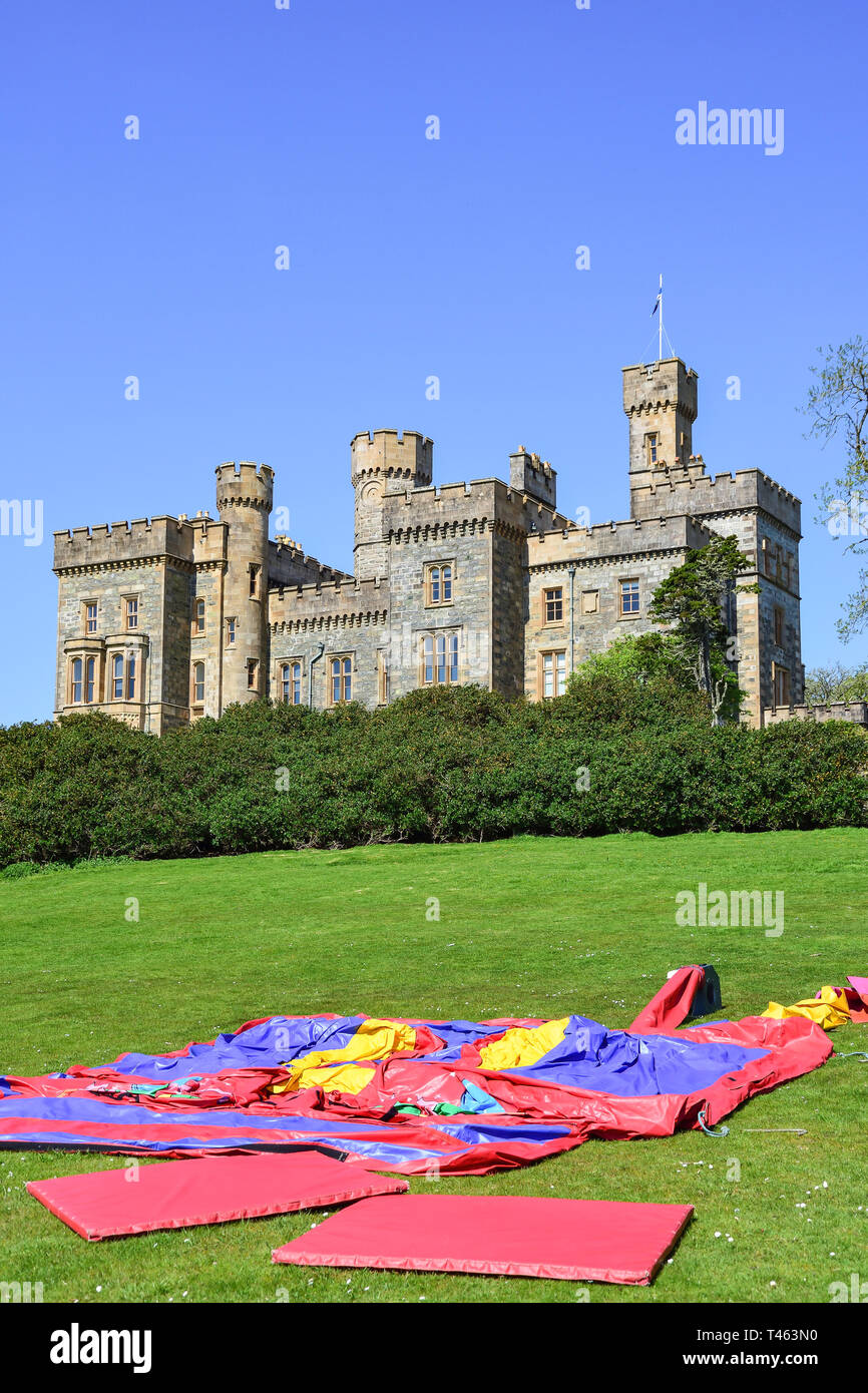 Lews Castle and grounds, Stornoway, Isle of Lewis, Outer Hebrides, Na h-Eileanan Siar, Scotland, United Kingdom - Stock Image