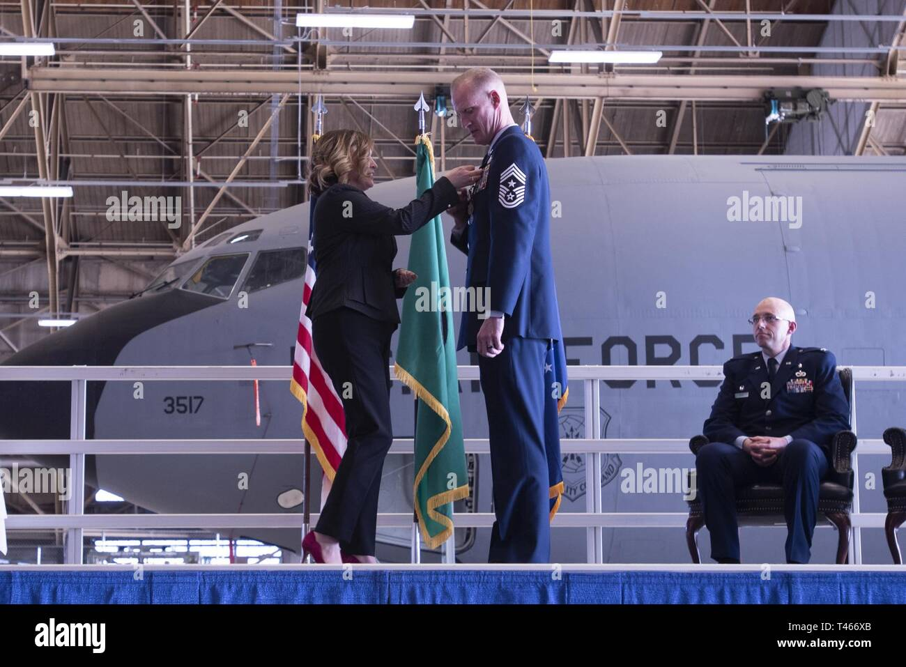 Air Force Command Chief Sgt Stock Photos & Air Force Command Chief