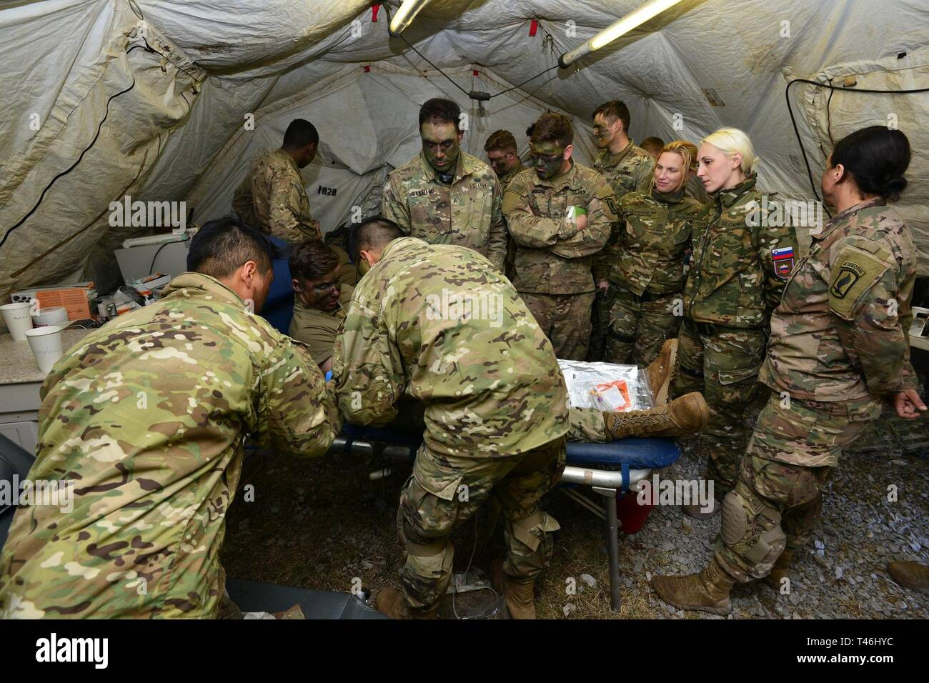 U S  Army Paratroopers assigned to the 173rd Brigade Support