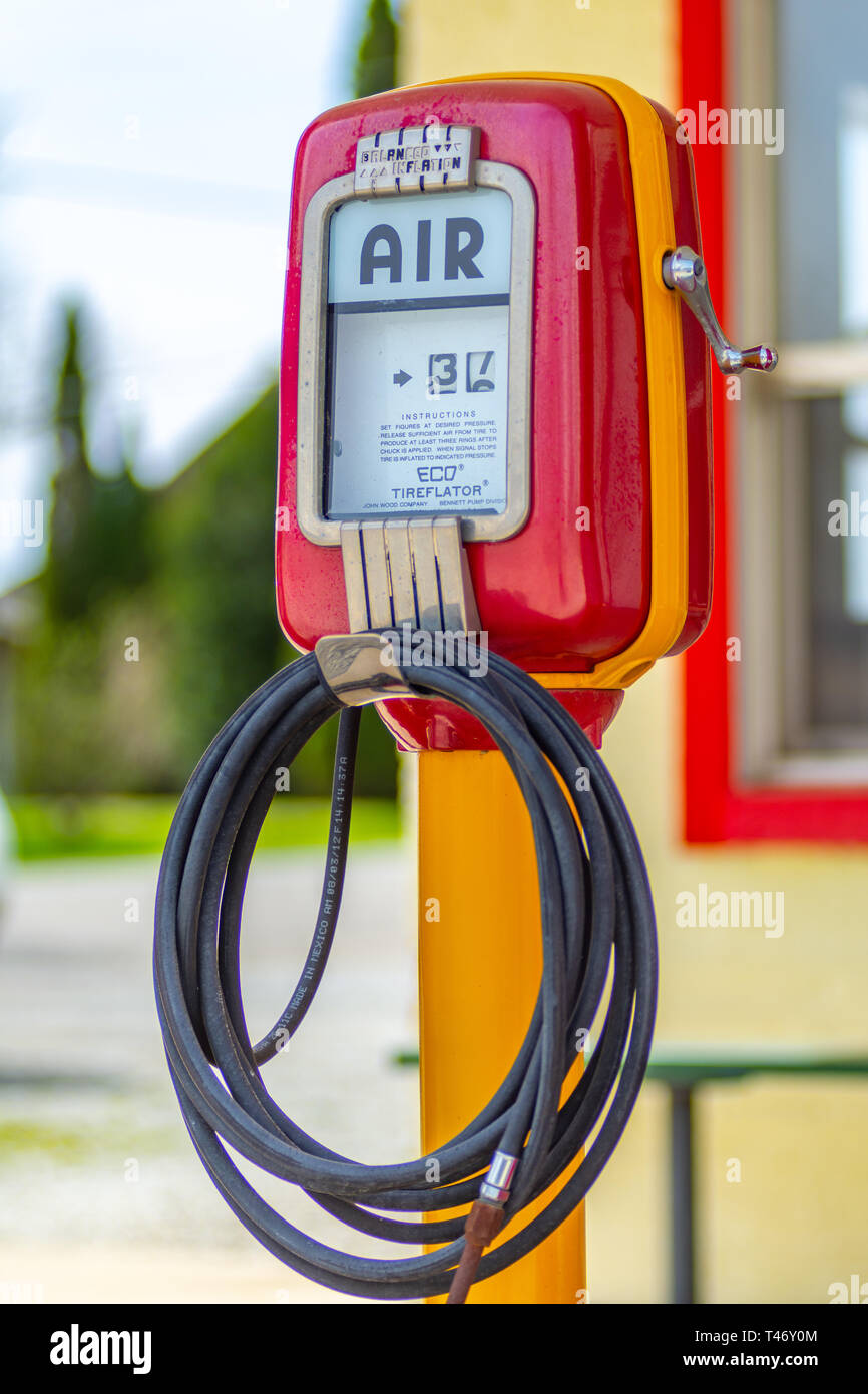 Tire Air Pump Gas Station Stock Photos Tire Air Pump Gas Station