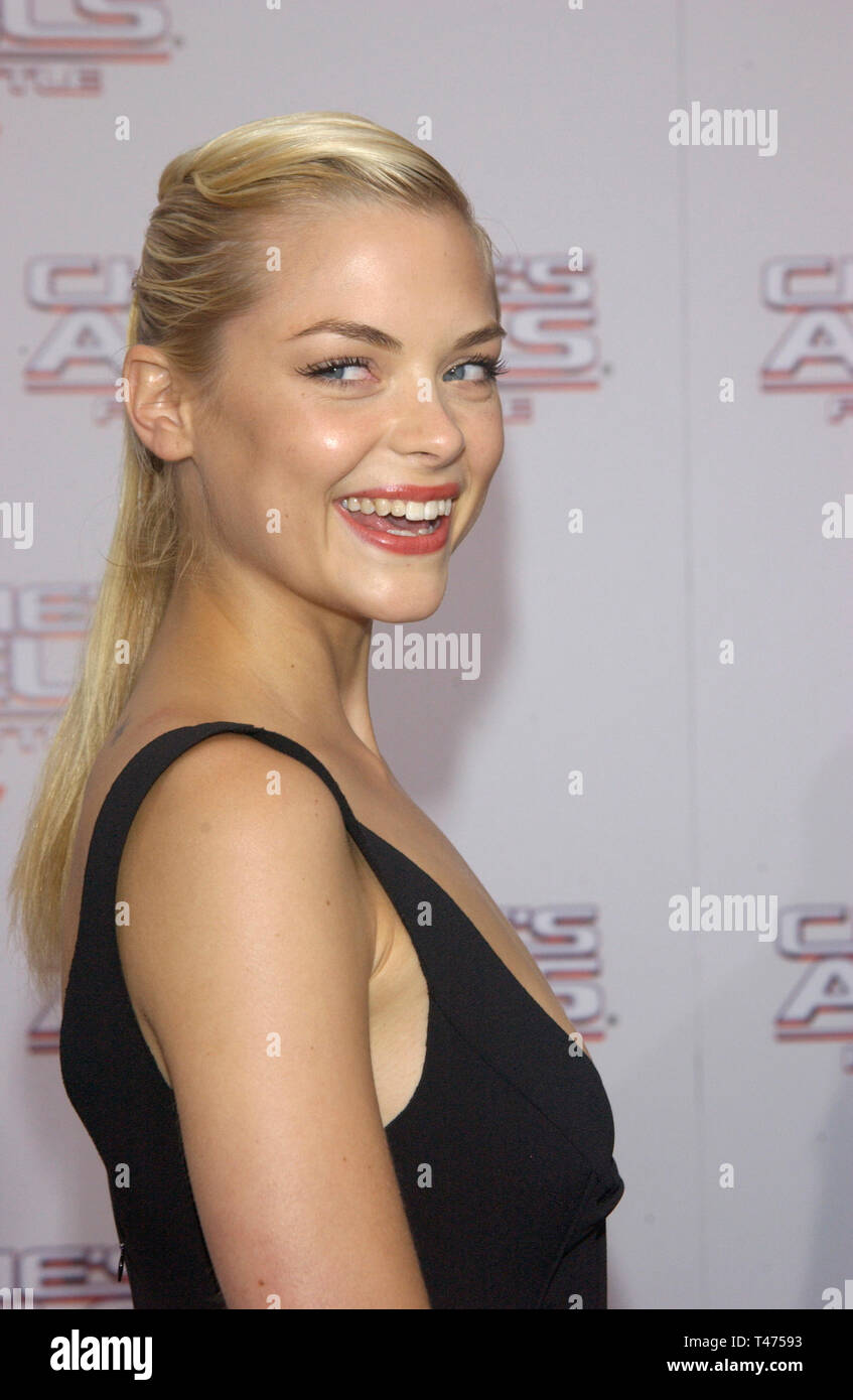 LOS ANGELES, CA. June 18, 2003: Actress JAIME KING at the Hollywood premiere of Charlie's Angels: Full Throttle. Stock Photo