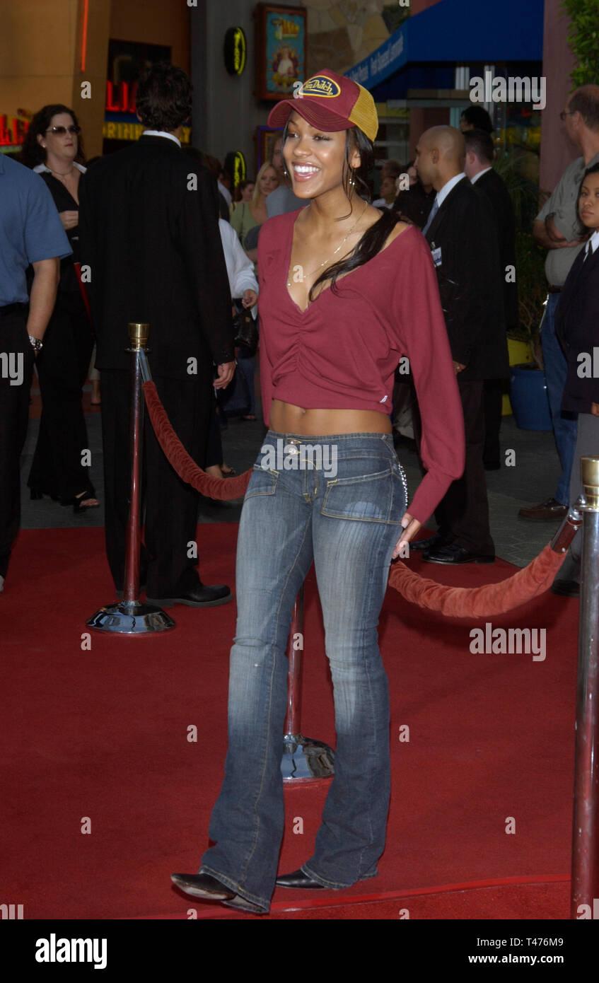 Meagan Good Wedding.Los Angeles Ca July 24 2003 Actress Meagan Good At The