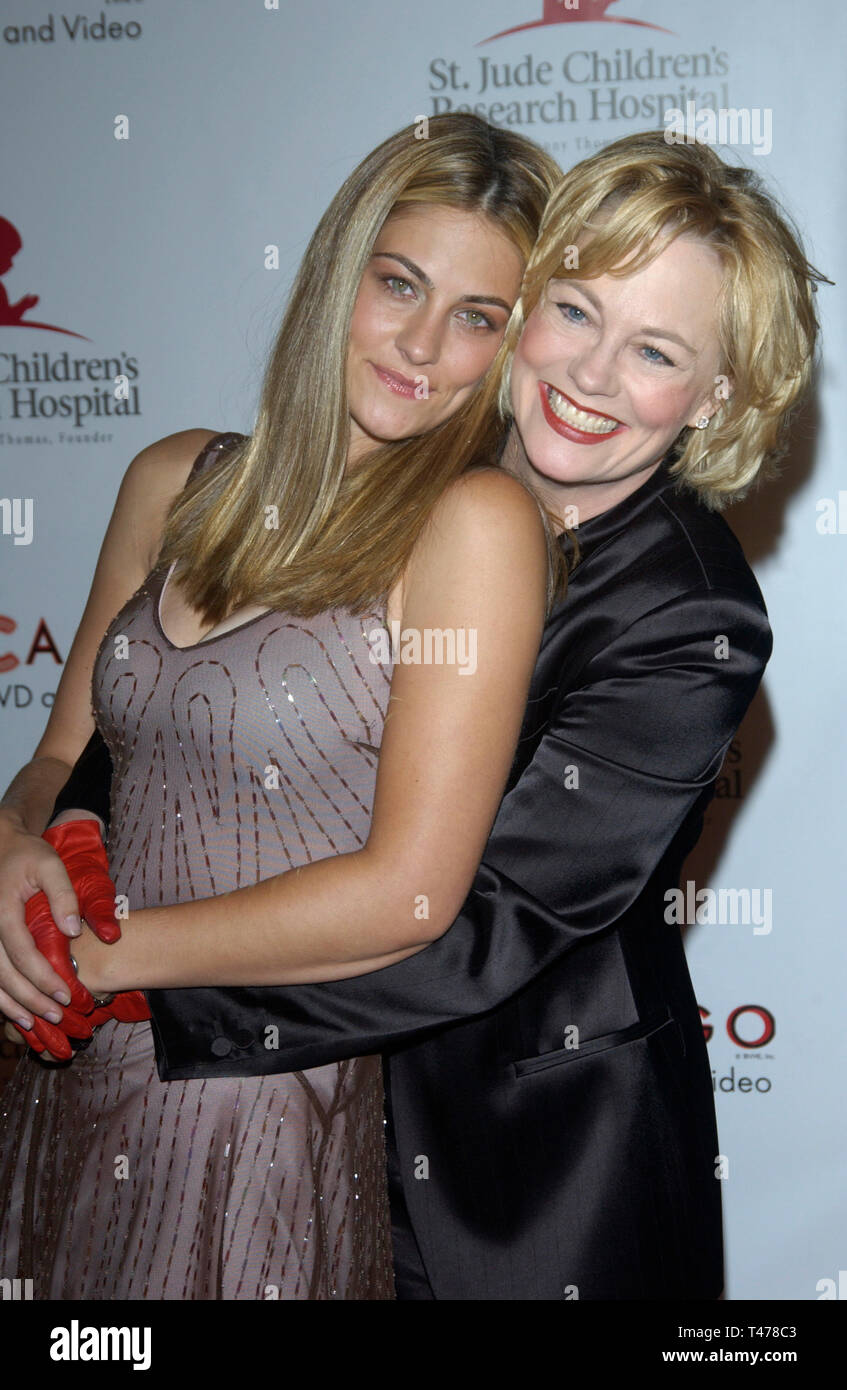 Cybill Shepherd And Clementine Ford Stock Photos Cybill