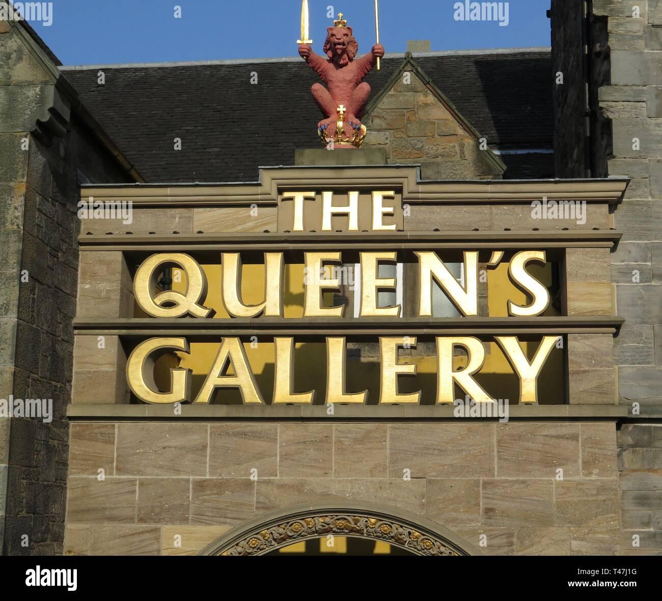 Scotland: Edinburgh, Palace of Holyroodhouse - Stock Image