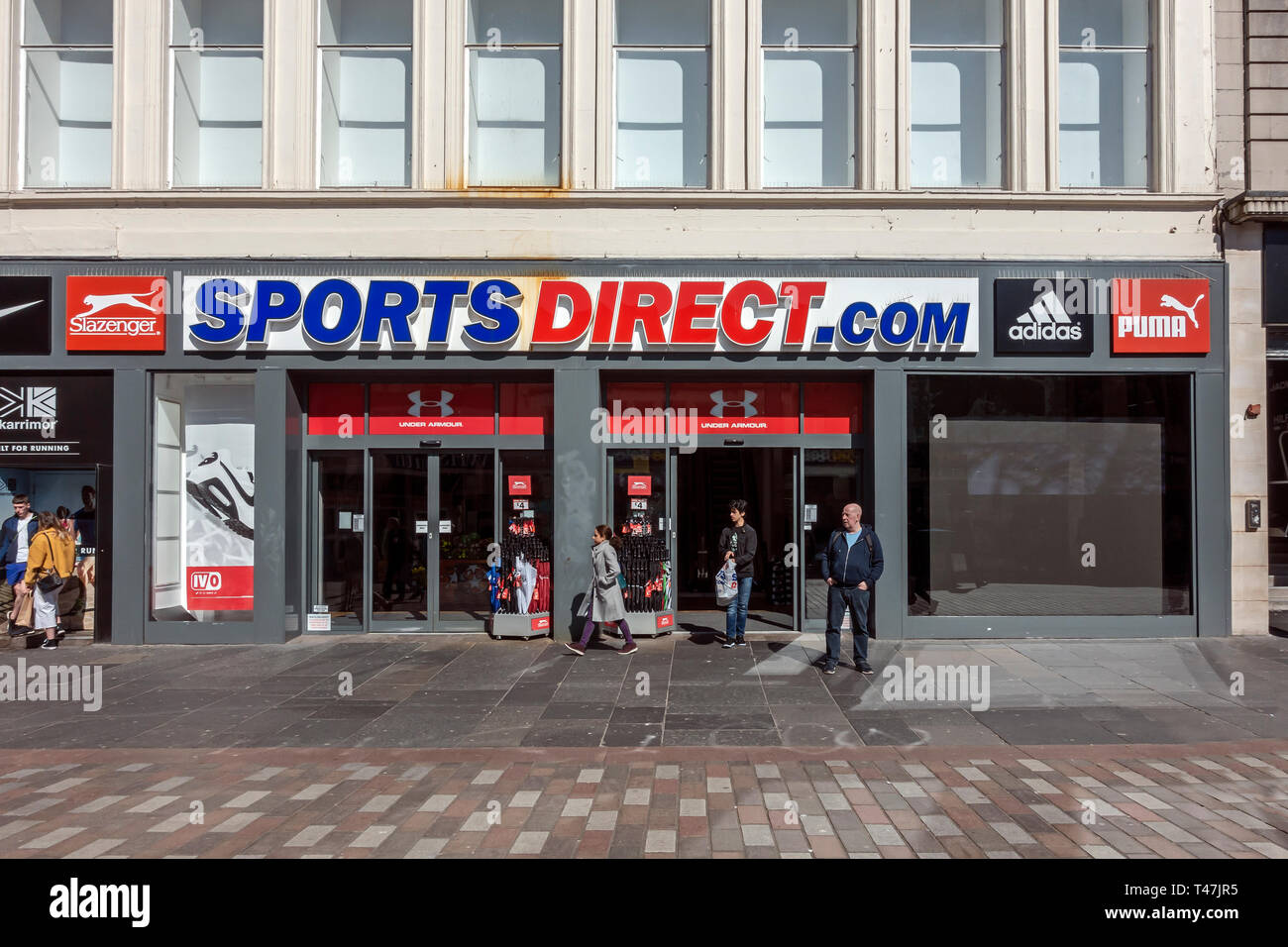 Sports Direct Store Uk High Resolution Stock Photography And Images Alamy Sports direct international plc is one the largest retailer of sport's good in the united kingdom which has a large array of sporting brands like adidas. https www alamy com sports direct store in argyle street glasgow scotland uk image243572201 html