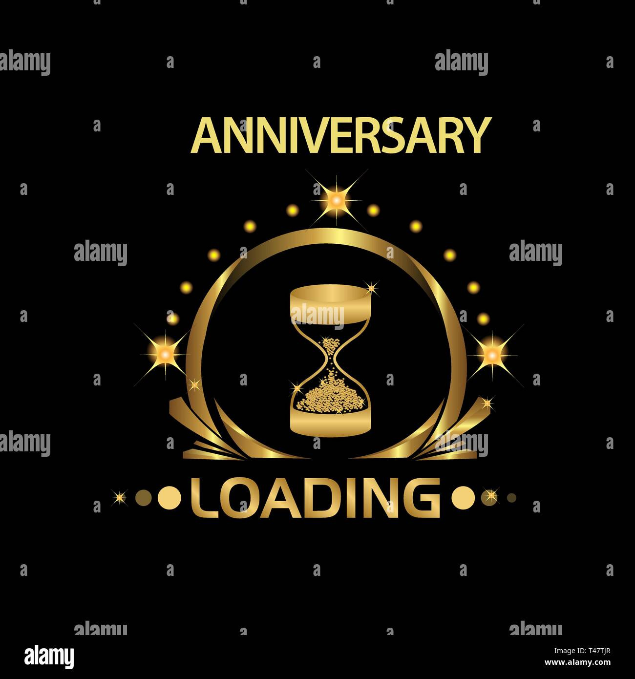 Anniversary Is Loading Anniversary Template Design For Web