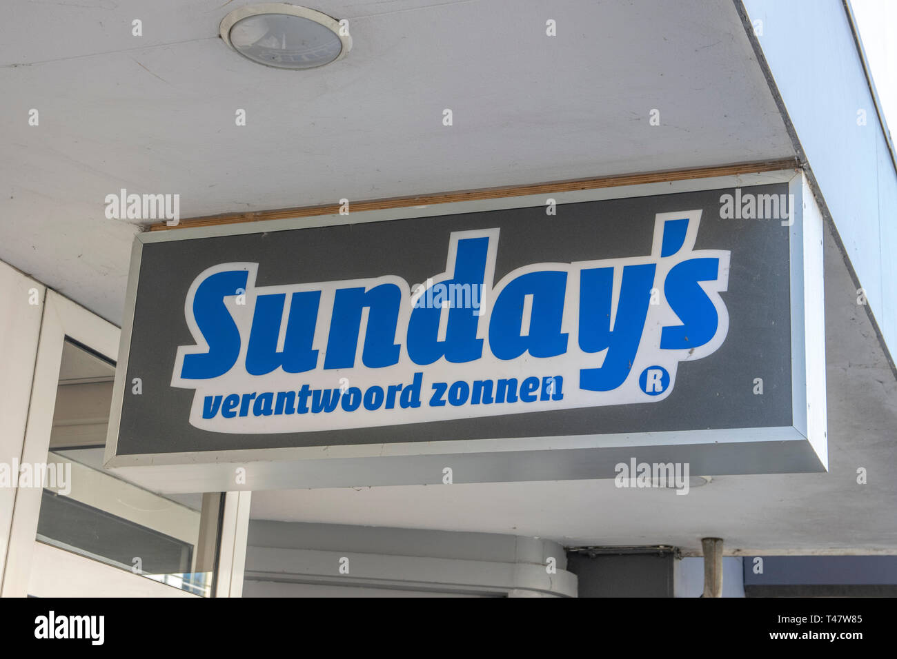 Sunday's Sun Studio At The Middenweg Amsterdam The Netherlands 2019 - Stock Image