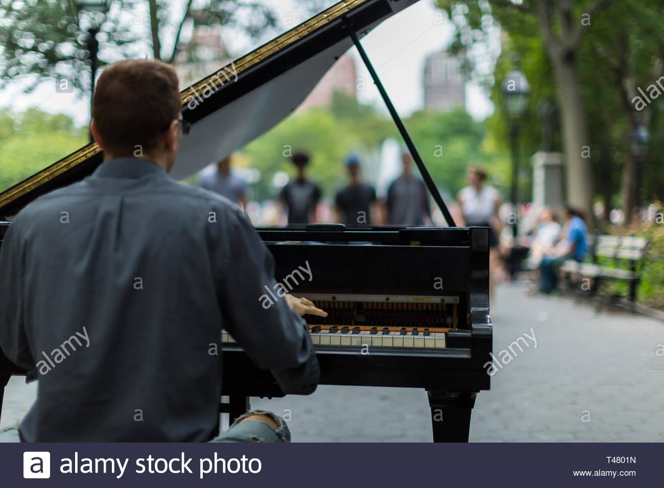 New York Street Scenes - Stock Image