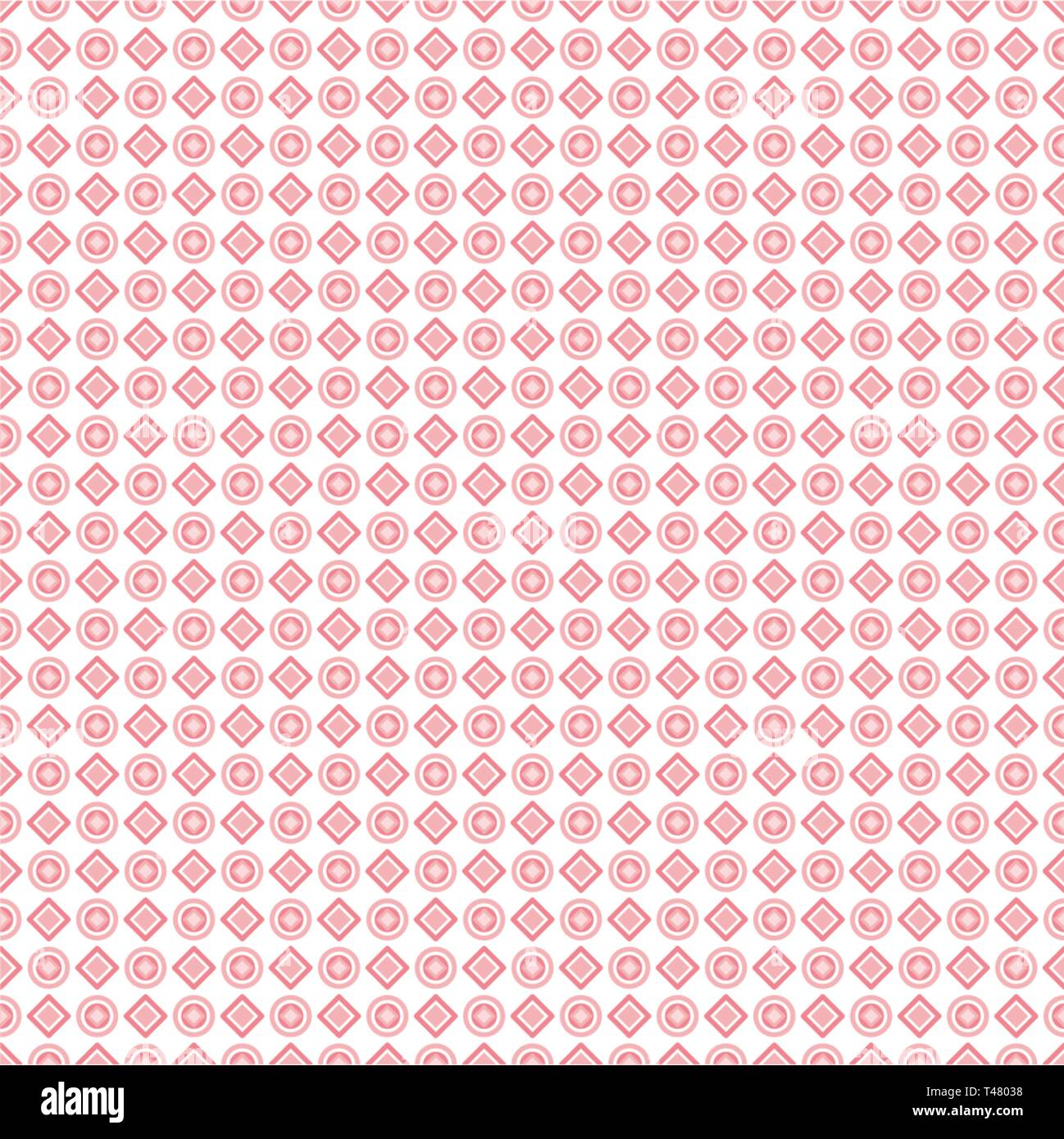 Seamless pattern of abstract  geometric shapes for fabrics, wallpapers, tablecloths, prints and designs.The EPS file (vector) has a pattern that will  - Stock Vector