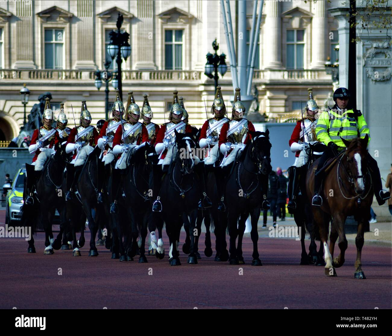 Blues and Royals - Stock Image