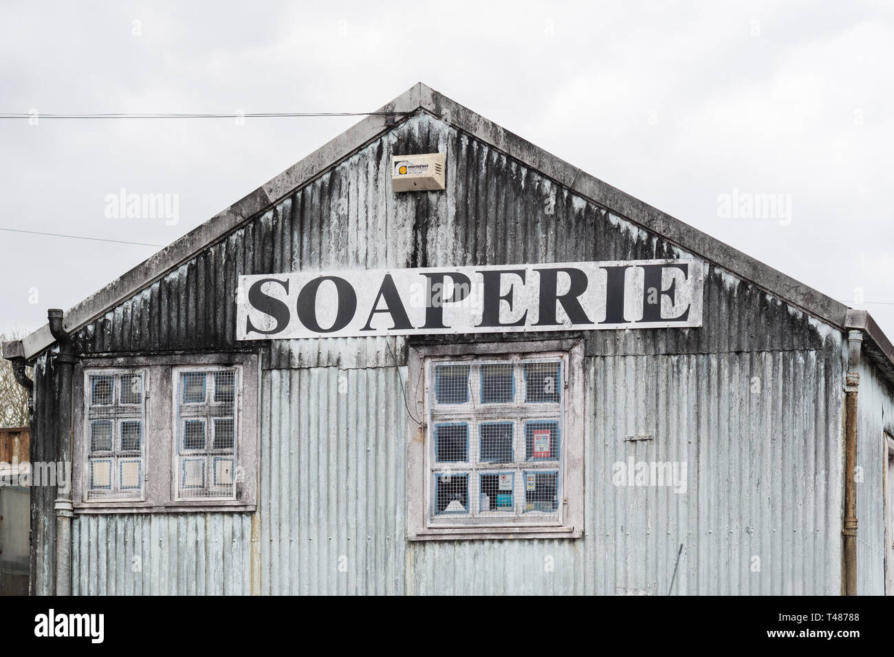 The Caurnie Soaperie - the worlds oldest cold process soapmaker - Kirkintilloch, Scotland, UK - Stock Image