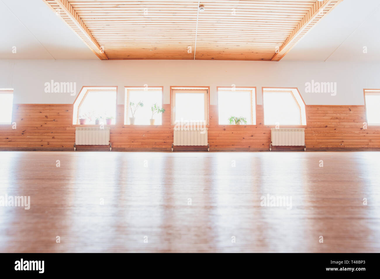 Empty Yoga Studio Interior Design High Resolution Stock Photography And Images Alamy