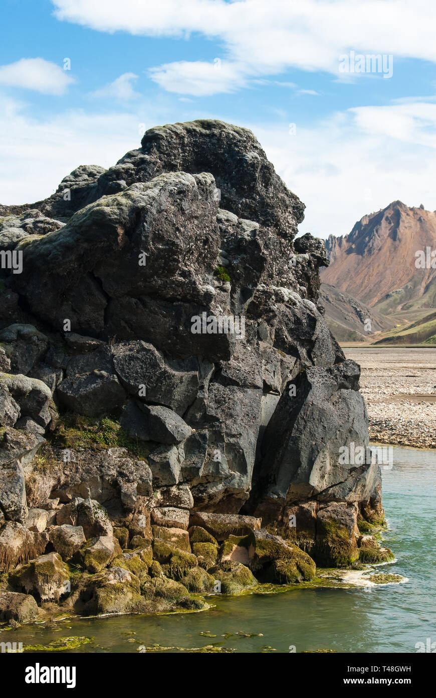 From Higland in Iceland - Stock Image