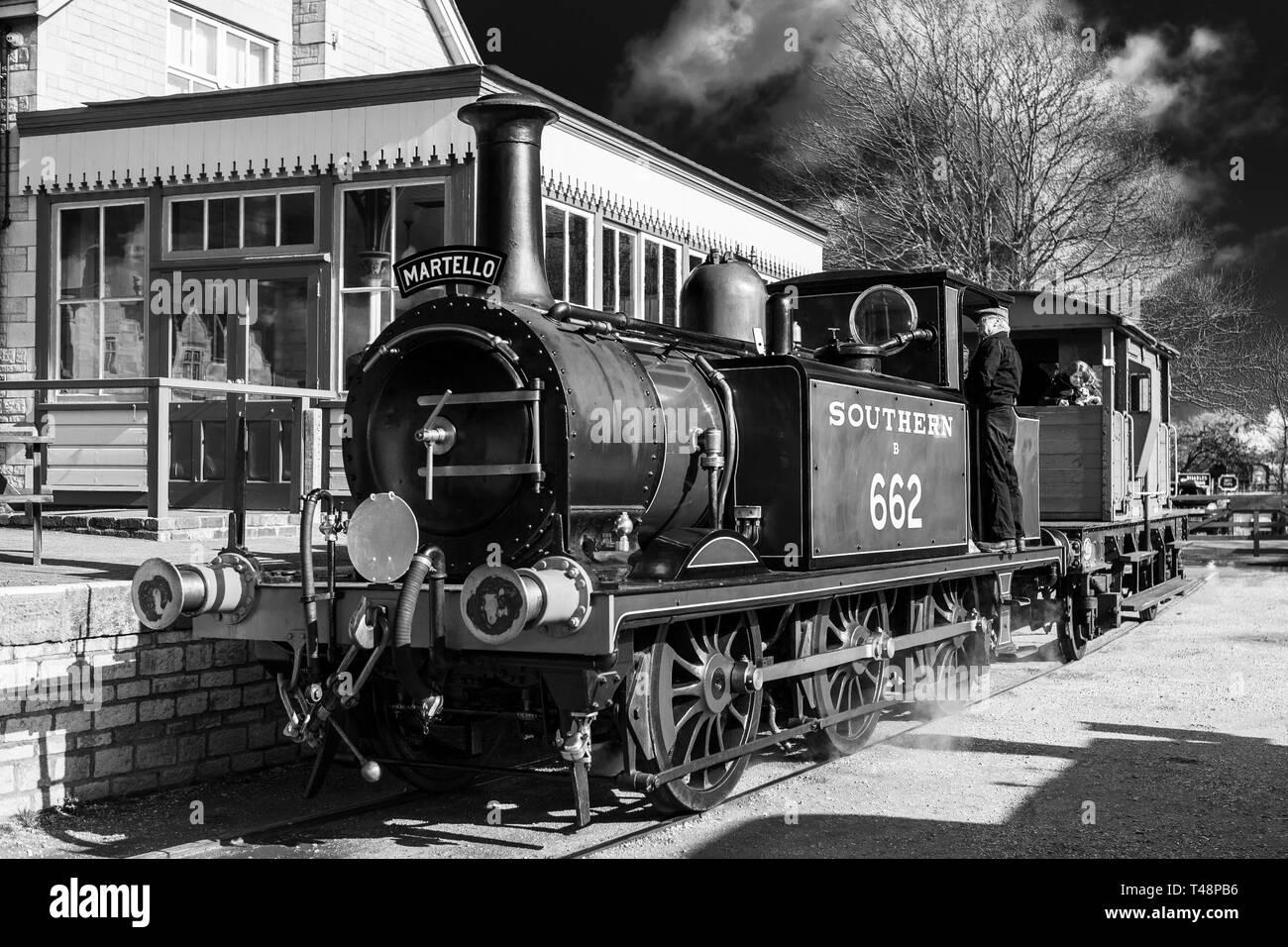 London, Brighton, & South Coast Railway Class A1X, 662 Martello Stock Photo