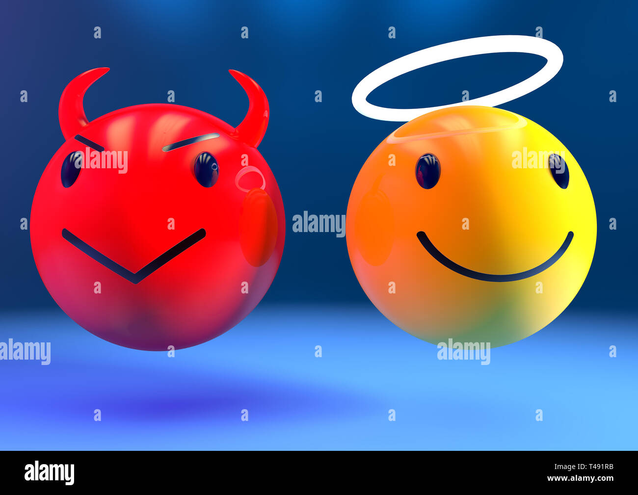 Devil Emoji Stock Photos Devil Emoji Stock Images Alamy
