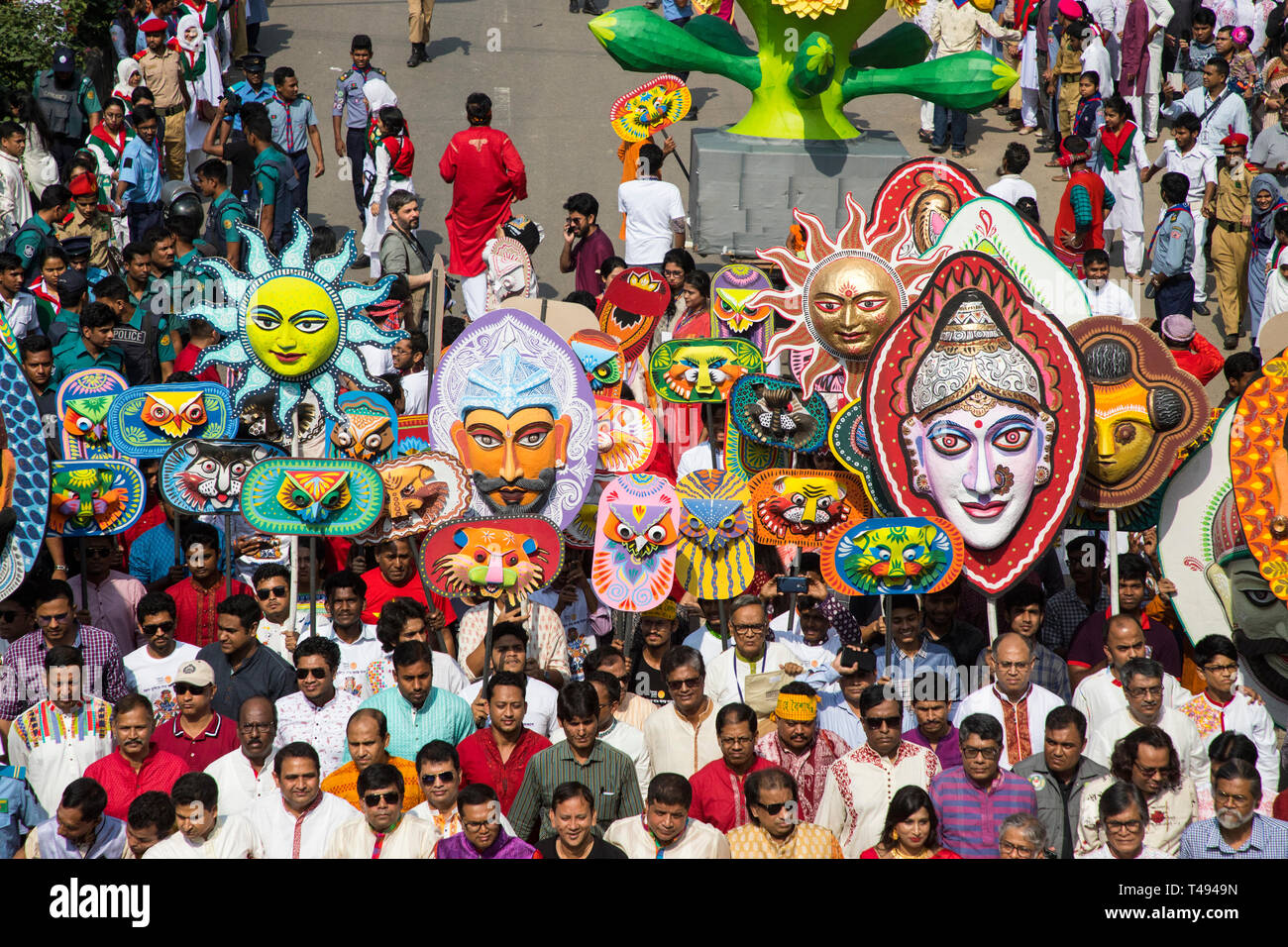 Image result for Mangal Shobhajatra on Pahela Baishakh