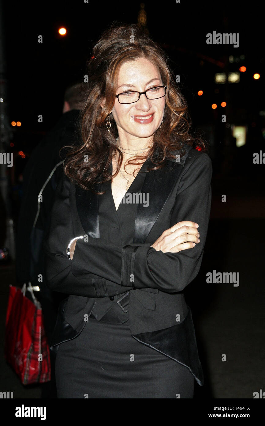 New York, USA. 24 Jan, 2007.  Annabelle Gurwitch at The 'Fired' Theatrical Premiere Party at Pangaea on January 24, 2007 in New York, NY. Credit: Steve Mack/S.D. Mack Pictures/Alamy - Stock Image