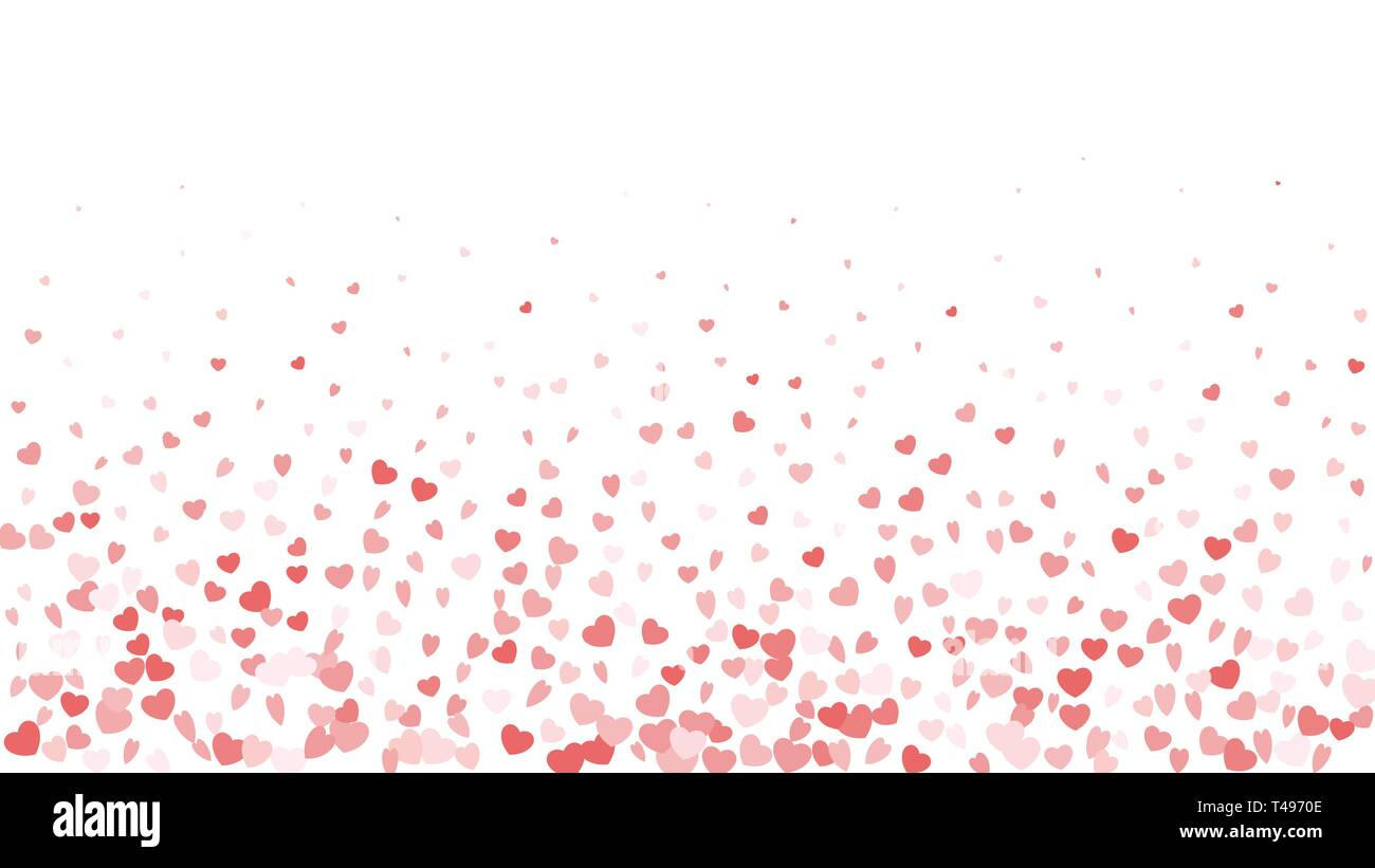 Valentine Day Border Design Template For Greeting Card Or