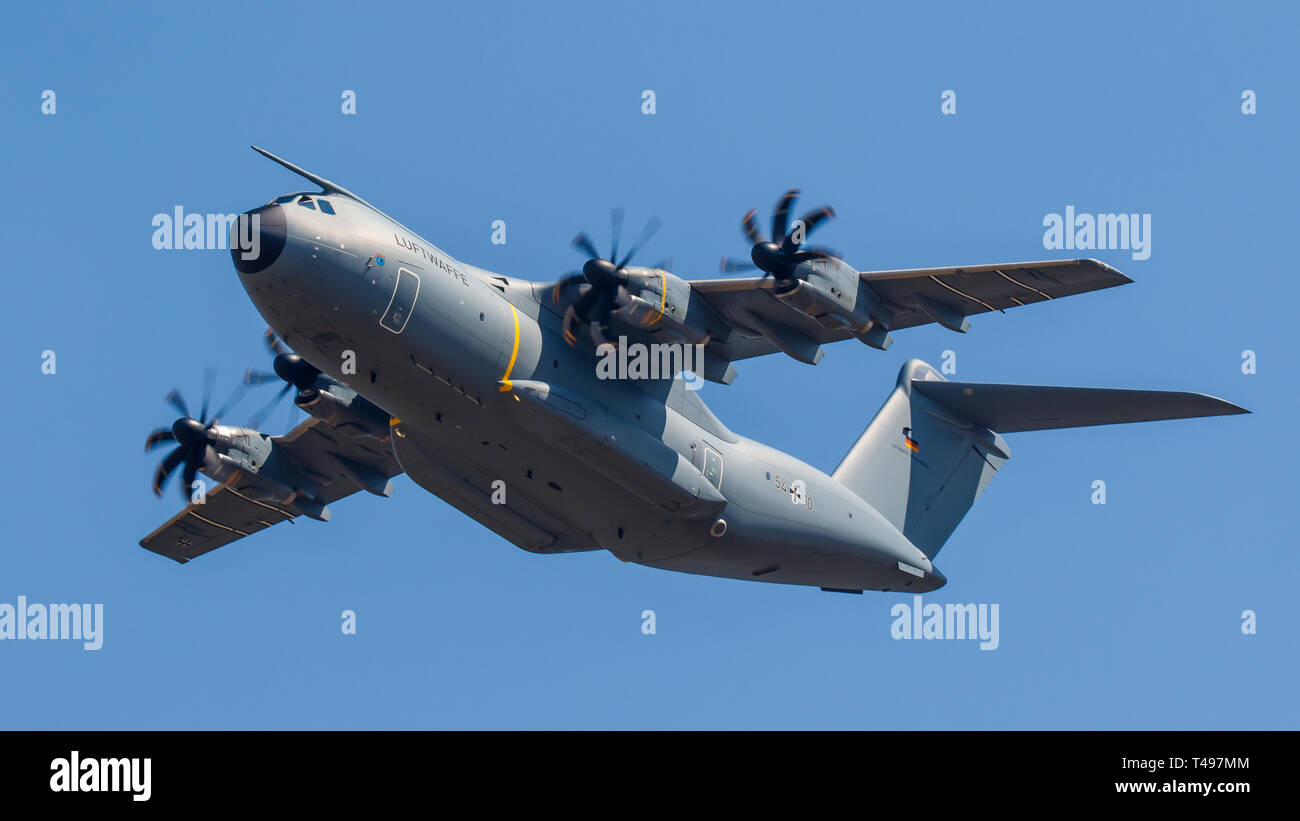 Airbus A400M Atlas of the German Air Force Luftwaffe - Stock Image