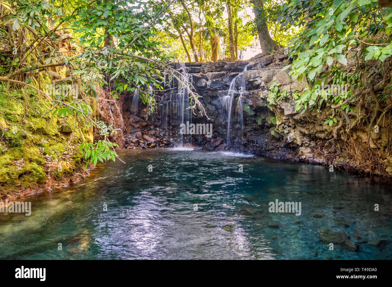 Cascadas Gemelas, Veracruz, Mexico - Stock Image