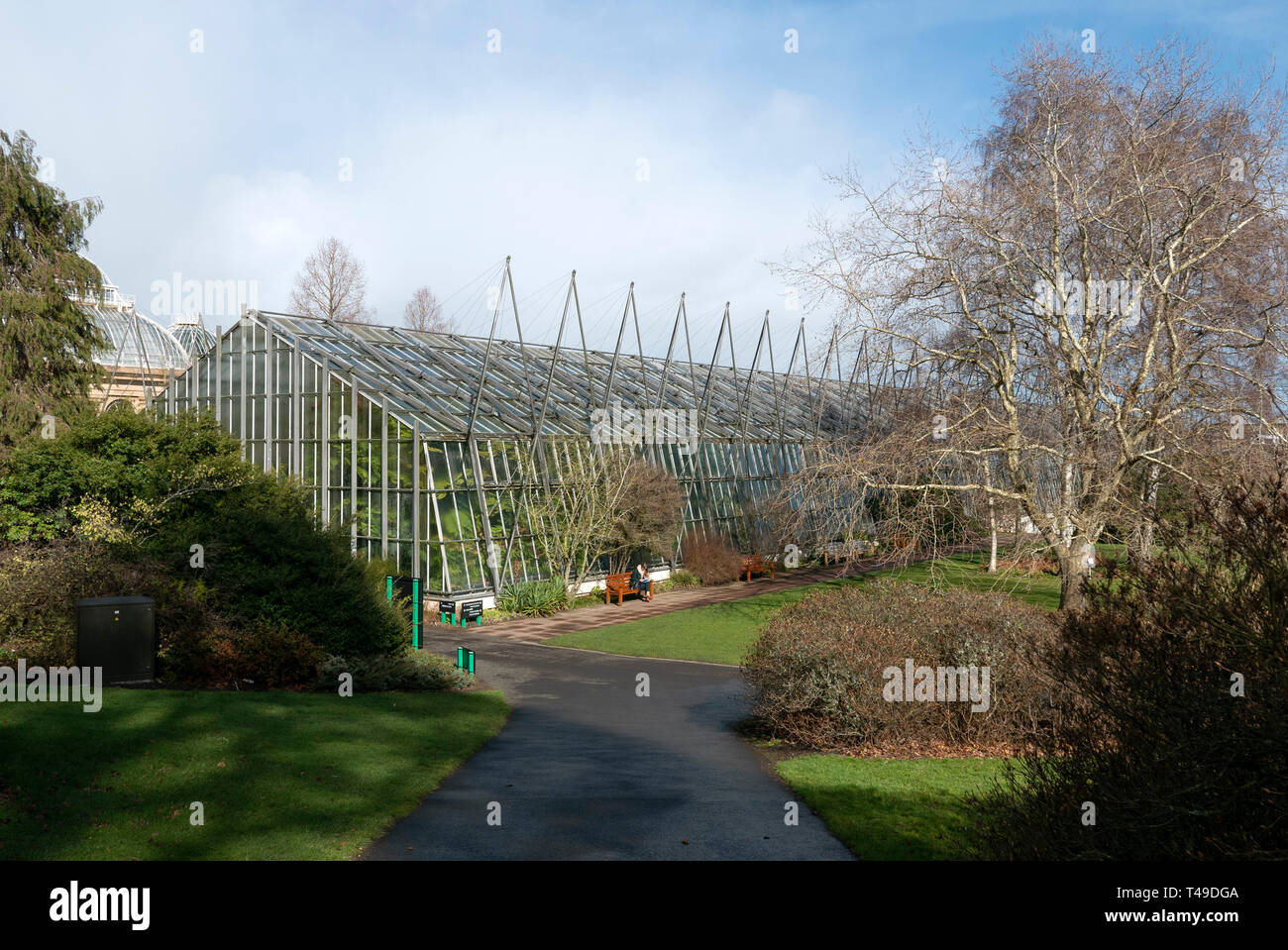 Royal Botanic Garden in Edinburgh, Scotland, United Kingdom - Stock Image