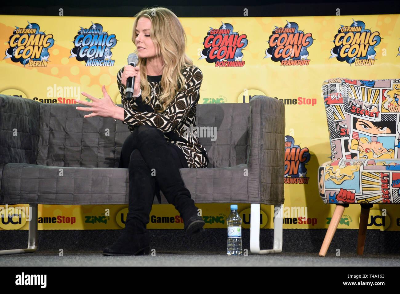 Jennifer Morrison at the 5th German Comic Con Dortmund 2019 in the Westfalenhallen. Dortmund, 13.04.2019   usage worldwide - Stock Image