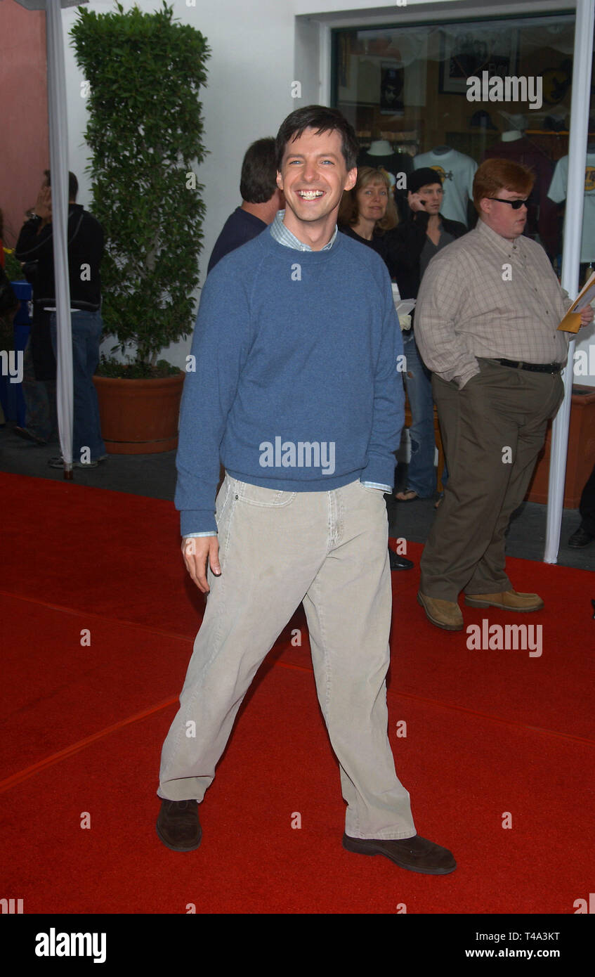 32b31818 November 08, 2003: Actor SEAN HAYES at the world premiere, in Hollywood, of  his new movie Dr. Suess' The Cat in the Hat.